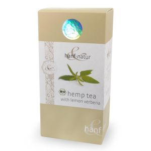 Organic Hemp & Lemon Verbena Tea bags