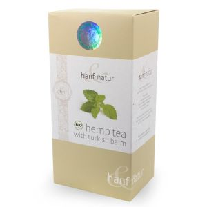 Hemp Leaf Turkish Balm Tea