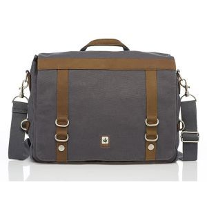 Hemp College Messenger Bag - Front