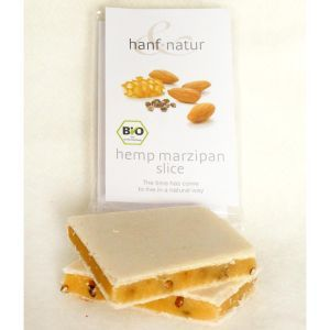 Organic Marzipan Hemp Bar