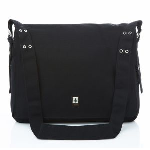 Hemp Messenger Bag - Black