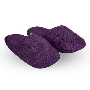 Hemp Slippers - Royal Purple