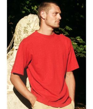 Hempiness 250g T-shirt - Crimson Red