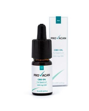 Provacan 1200mg CBD Oil - 12% - 10ml