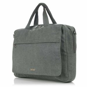 Hemp Laptop Bag Grey