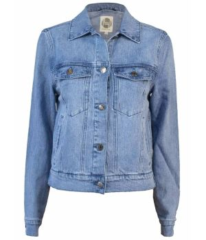 Hemp Hoodlamb Ladies Denim Jacket