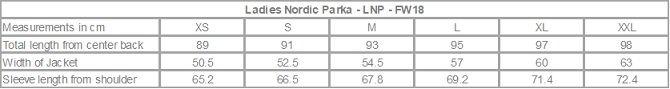 Ladies Nordic Parka