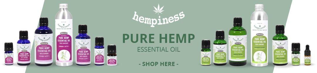 Buy Hemp Essential Oil Here